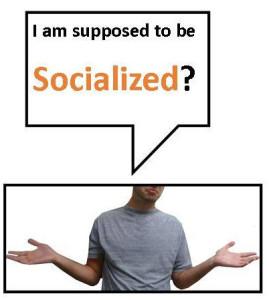 socialize 1